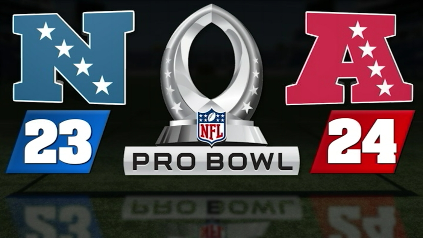 AFC rallies from 17 points down to top NFC in Pro Bowl