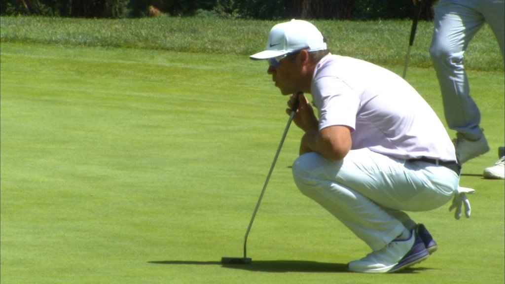 Lambert leads, Prugh stays in top 5 after round two at Rosauers Open
