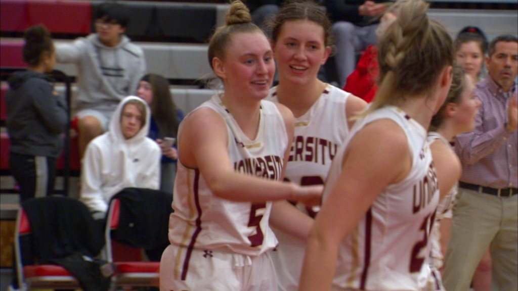 University girls win in double OT over St. Ignatius on historic night for Boni