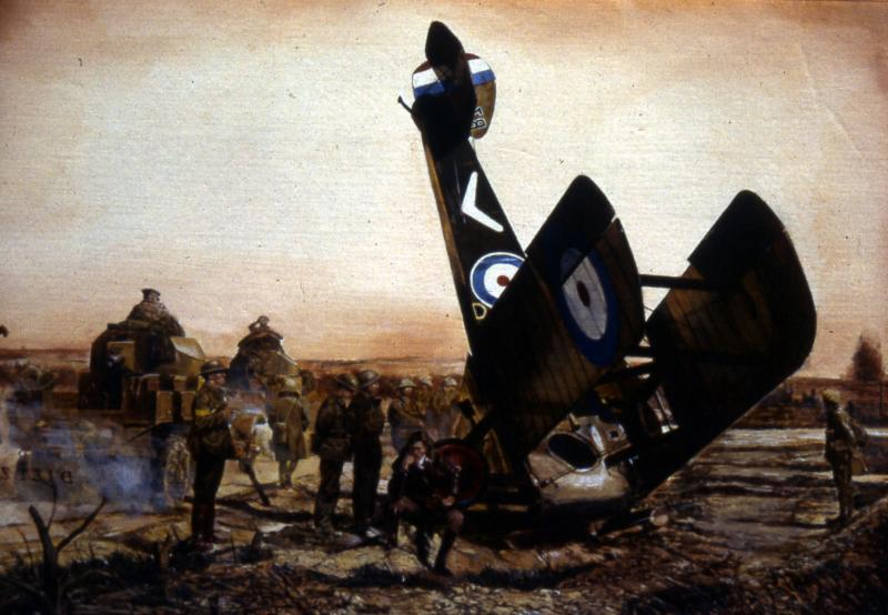 WWI aviation comes to life in art exhibit
