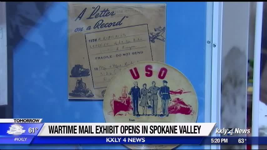 Wartime mail exhibit opens in Spokane Valley