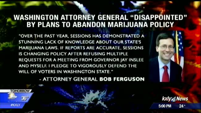 Washington marijuana advocates assess impact of Jeff Sessions' policy change