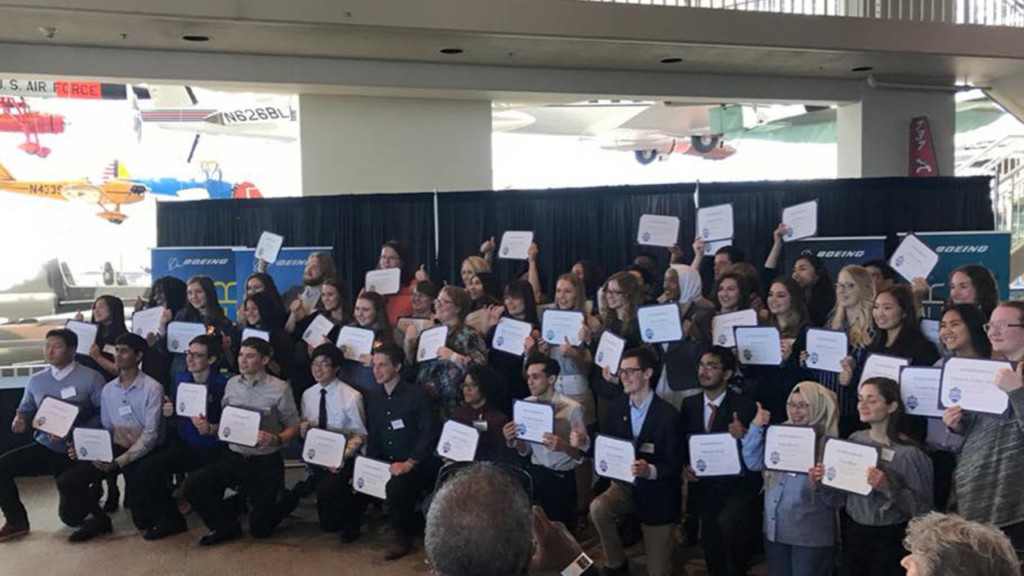 Boeing holds STEM Signing Day in Washington