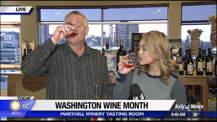 Washington Wine Month; local wineries celebrating homegrown wine
