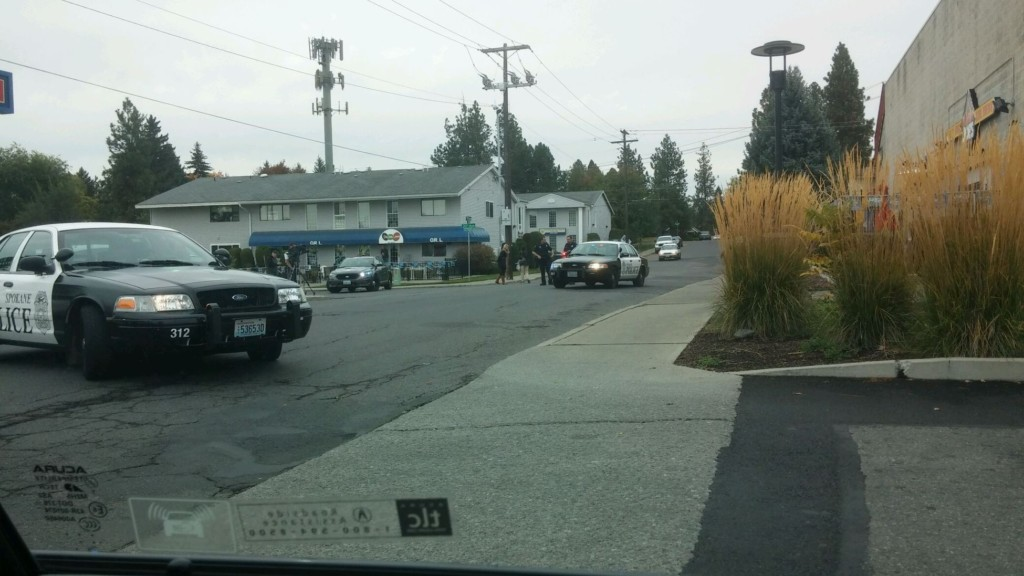 Four minutes from bank robbery to arrest