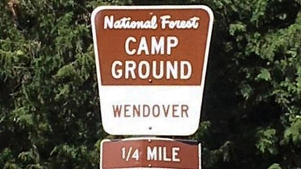 Wendover Campground closed for camping season