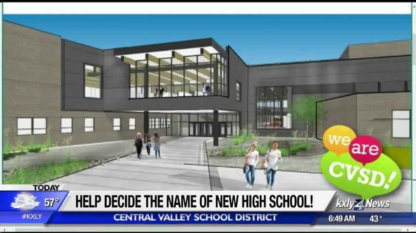 What should the new high school in Central Valley be called? Submit your idea