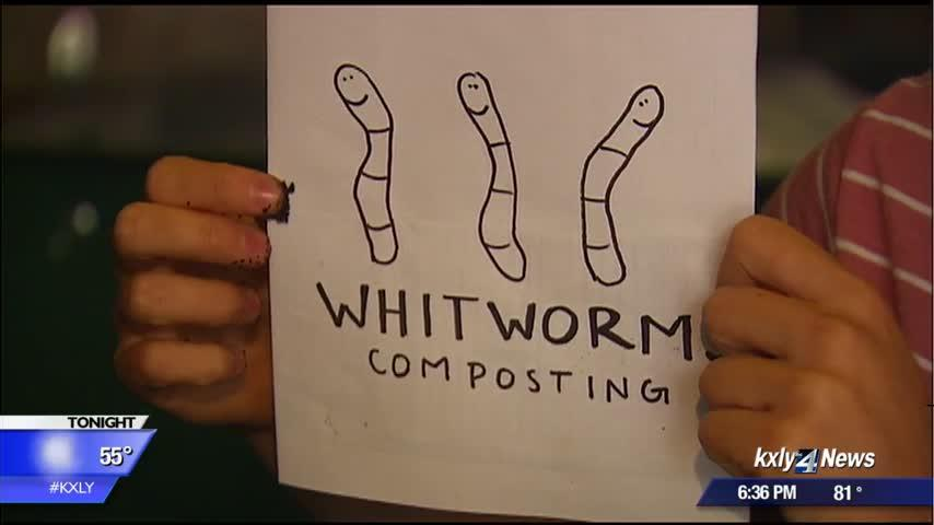 """Whitworms"" help Whitworth University cut back on waste by 70 percent"