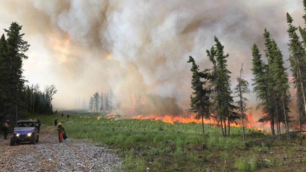 About 1,000 firefighters from Washington, Oregon sent to battle Alaska wildfires