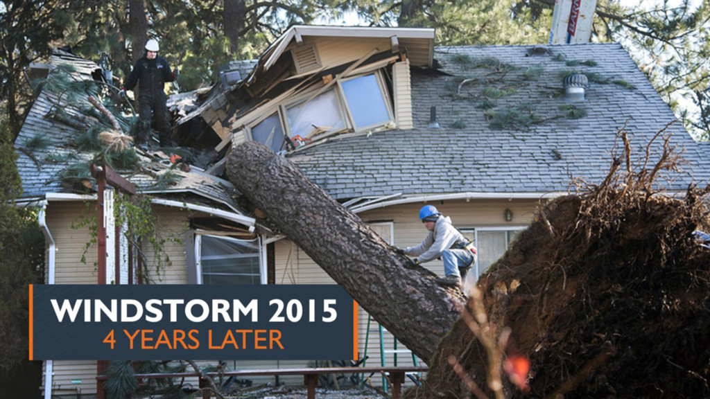 Remembering the 2015 windstorm four years later