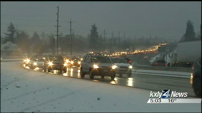 Winter weather causing issues for drivers