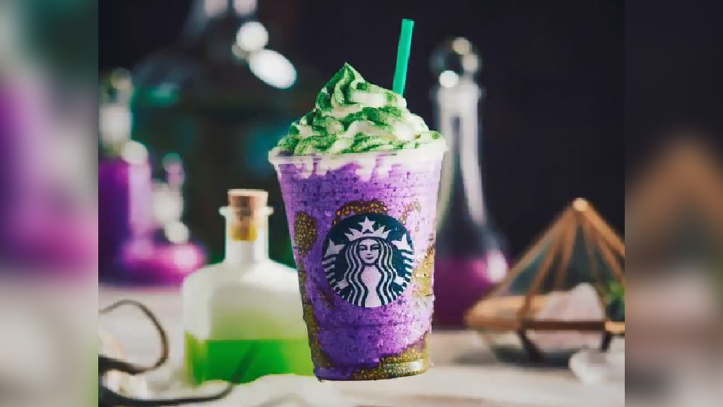 Get your wicked new frappaccinos now!