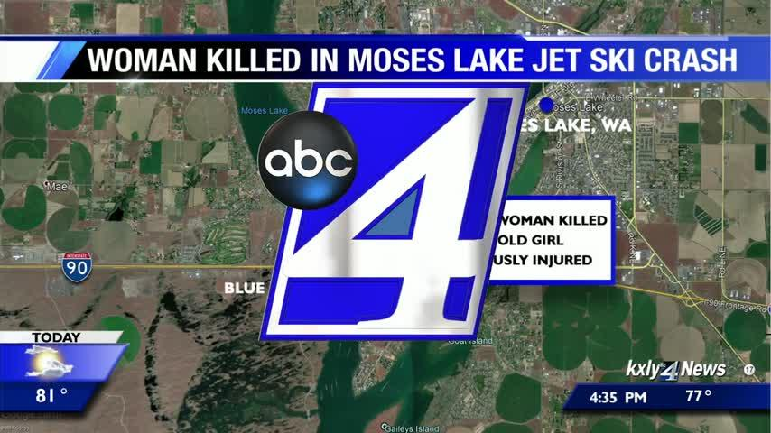 Woman dies in Moses Lake jet ski crash