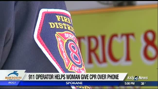 Woman given instructions for CPR over the phone after calling 911