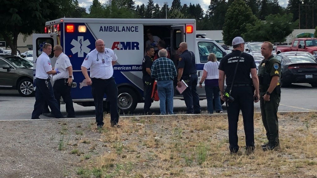 Woman taken to hospital after being rescued from Spokane River
