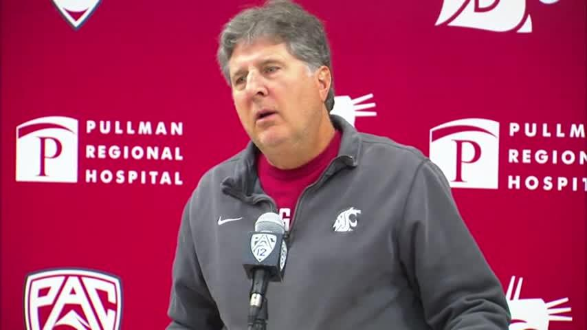 The best from Mike Leach's press conference Monday post-Colorado win