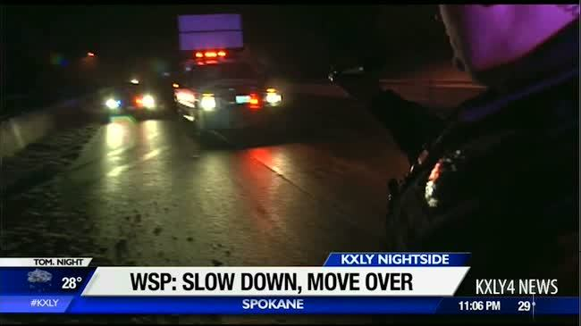 WSP reminds drivers to slow down, move over
