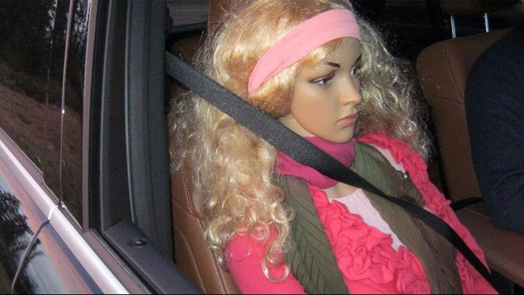 WSP cracking down on drivers who use mannequins to meet HOV lane requirements