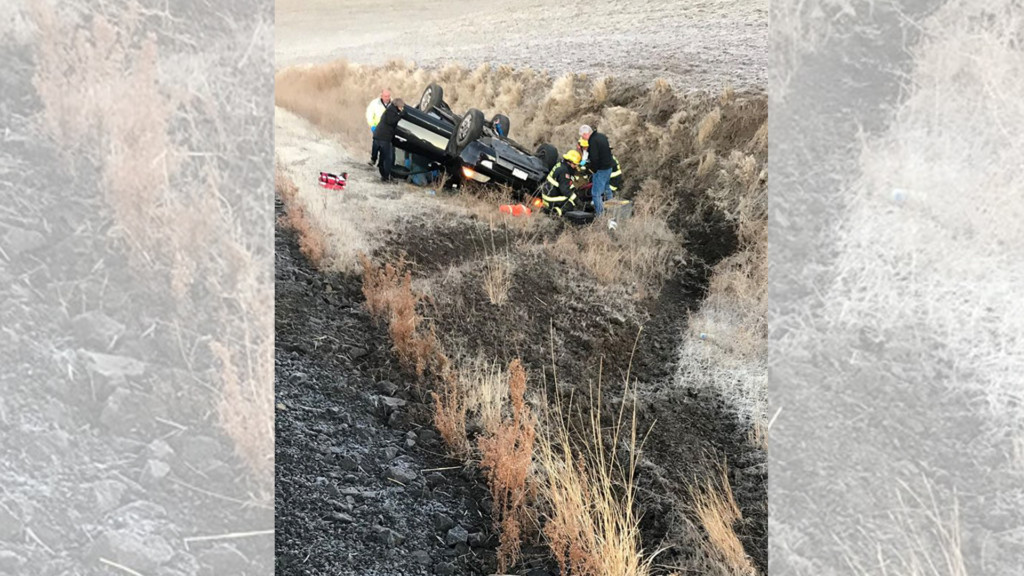 Two WSU students injured in rollover crash