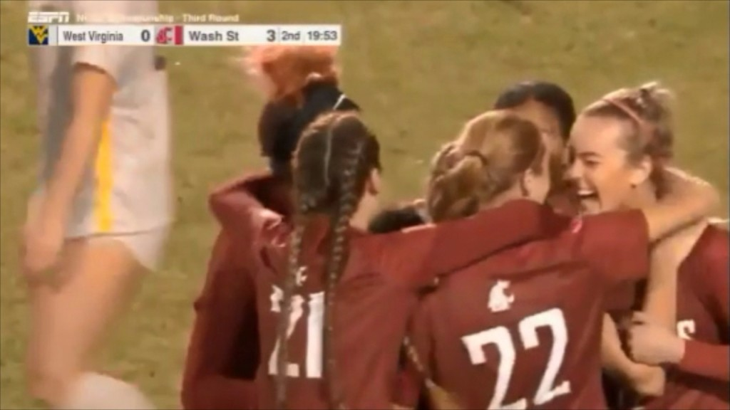 WSU soccer advances to first Elite Eight in program history with 3-0 win