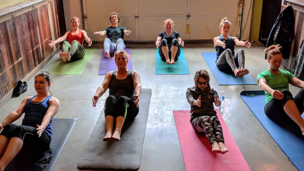 Moscow beer yoga classes offer new fitness experience