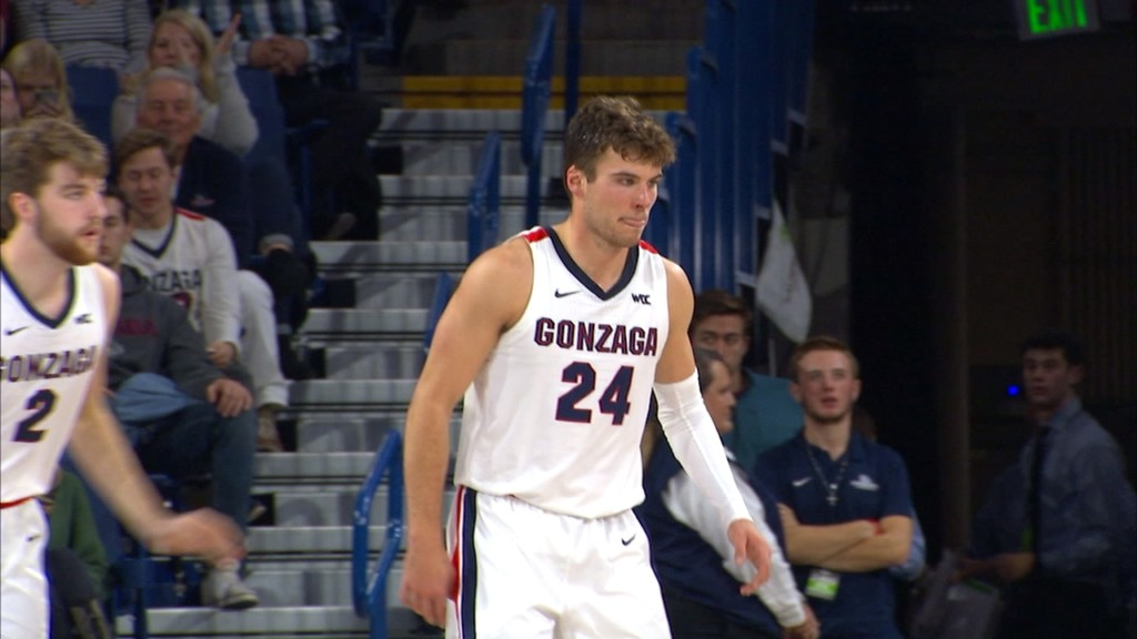 Gonzaga rolls over North Carolina in the Kennel, 94-81
