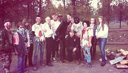 Hike with zombies at Riverside Park