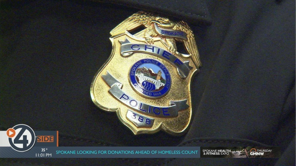 Spokane Police Department badge