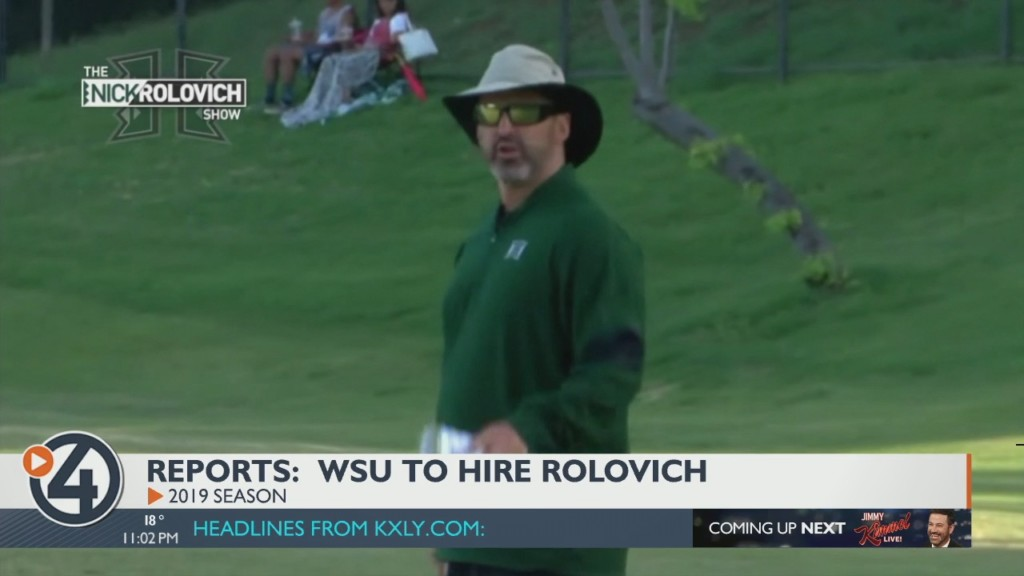 Cougs to hire Hawaii HC Nick Rolovich