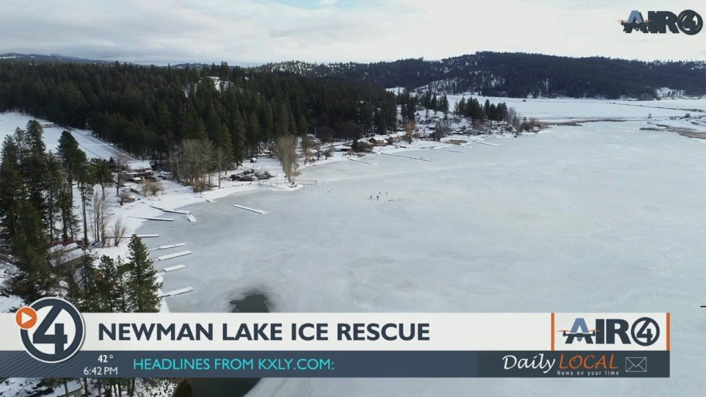 Air 4 Adventure: Newman Lake ice rescue