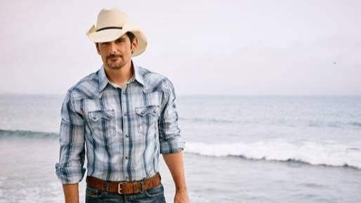 Country singer Brad Paisley