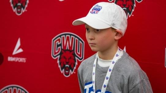 A 9 year old boy was drafted by the Central Wash. University baseball team.