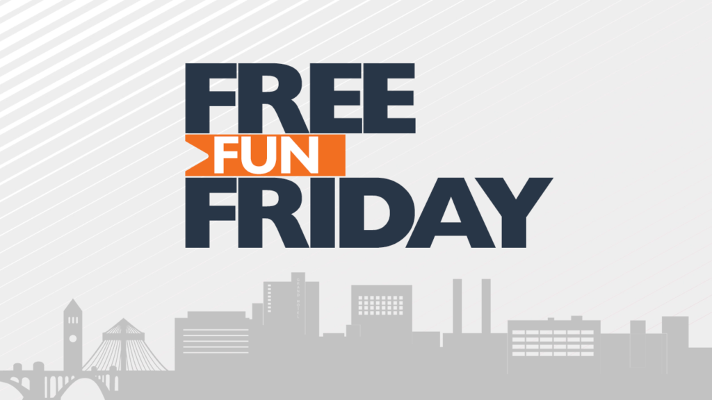 FREE FUN FRIDAY LOGO