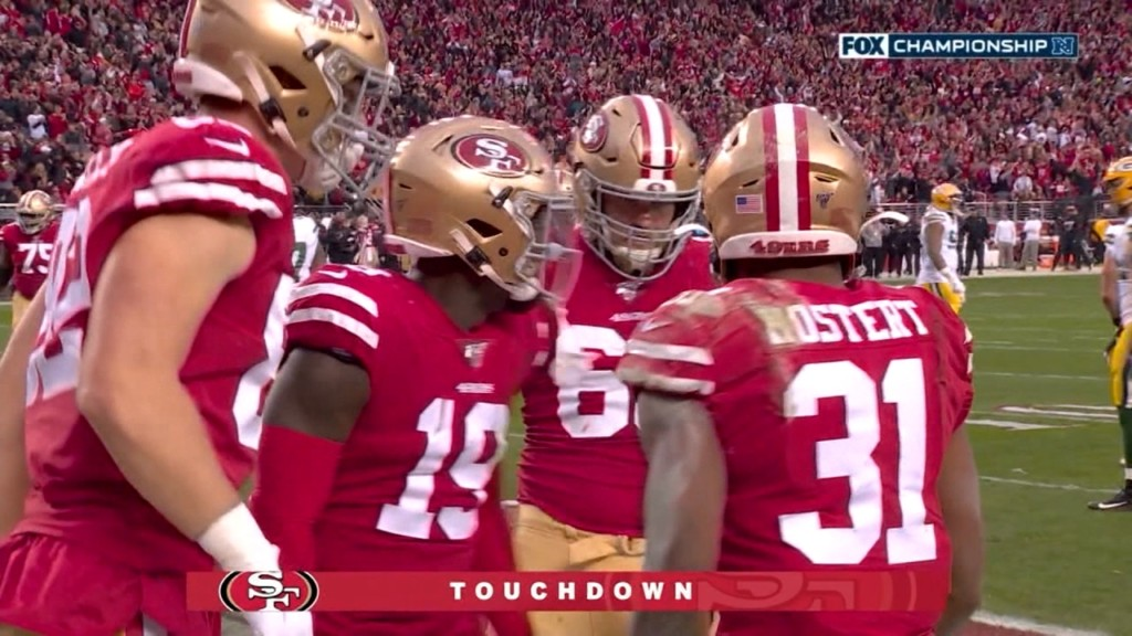 San Francisco's runningback Raheem Mostert puts the 49ers in Super Bowl LIV