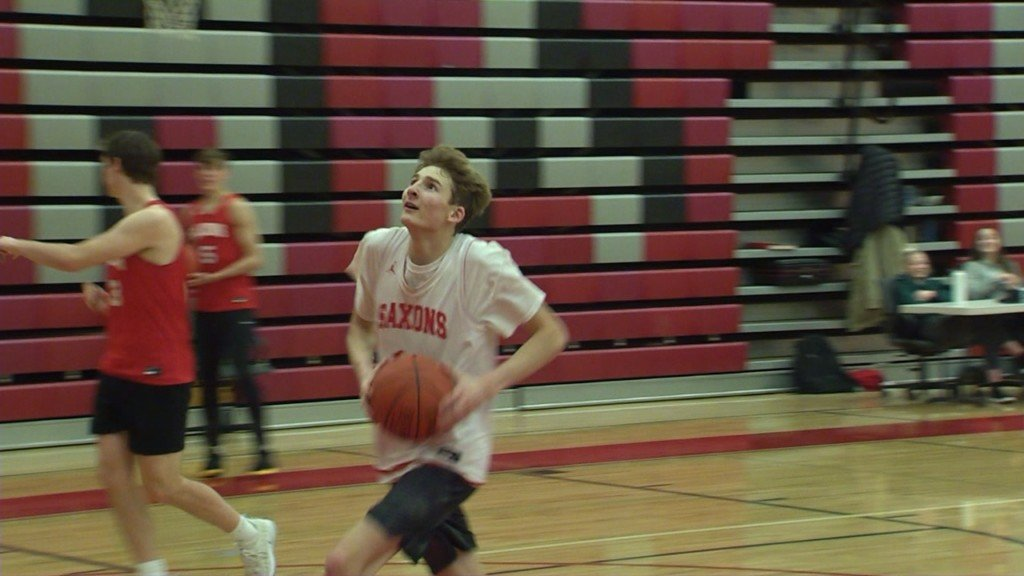 Ferris Senior Coy Spink is a leader on and off the basketball floor