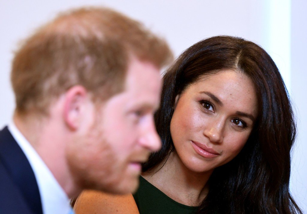Britain's Prince Harry, Duke of Sussex, and Britain's Meghan, Duchess of Sussex attend the annual WellChild Awards in London on October 15, 2019.