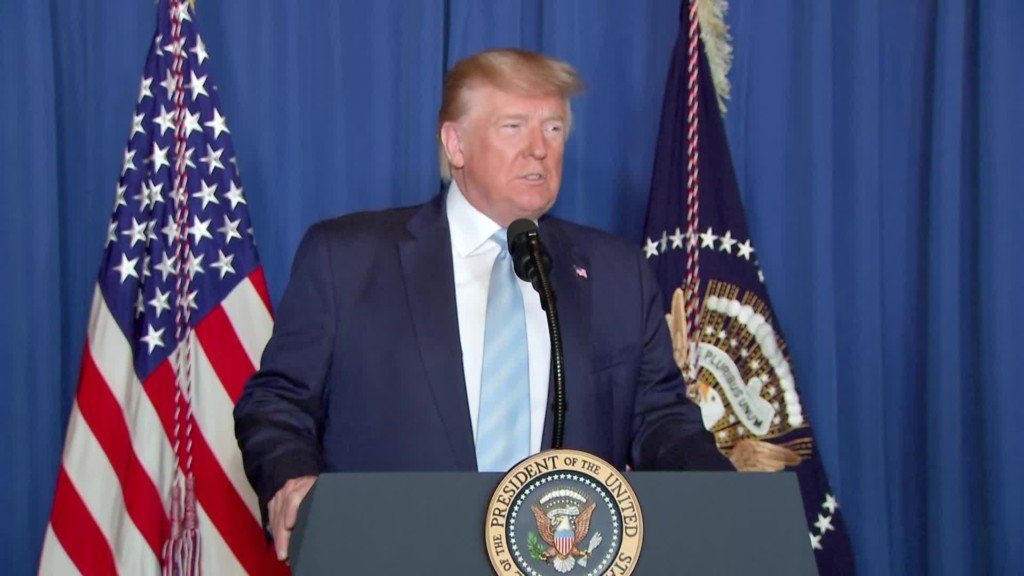 "President Donald Trump says he authorized a precision strike against the commander of Iran's security and intelligence services because he was plotting ""imminent and sinister attacks"" on Americans."