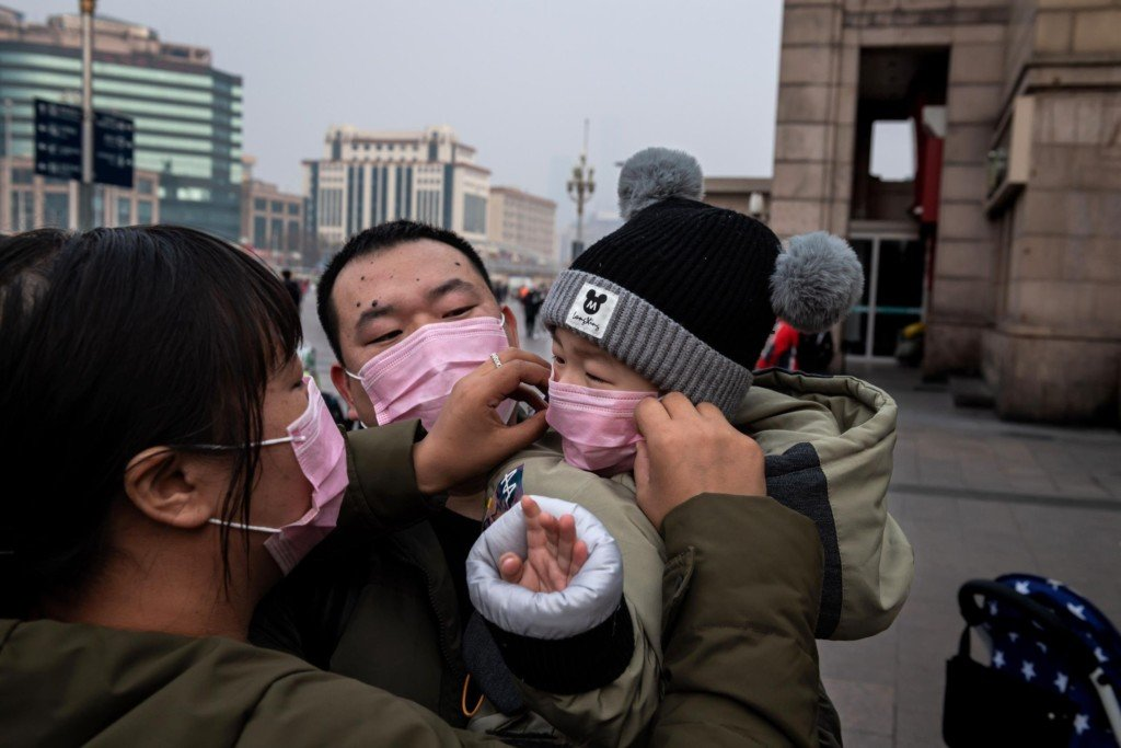People wearing masks to protect from coronavirus