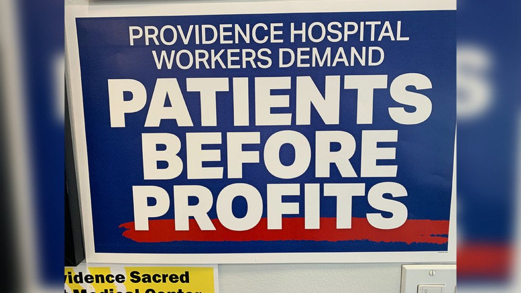 Nurses and healthcare workers at Sacred Heart and Holy Family have postponed their strike date.