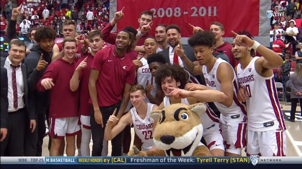 Washington State beats Oregon State on Klay Thompson jersey retirement day