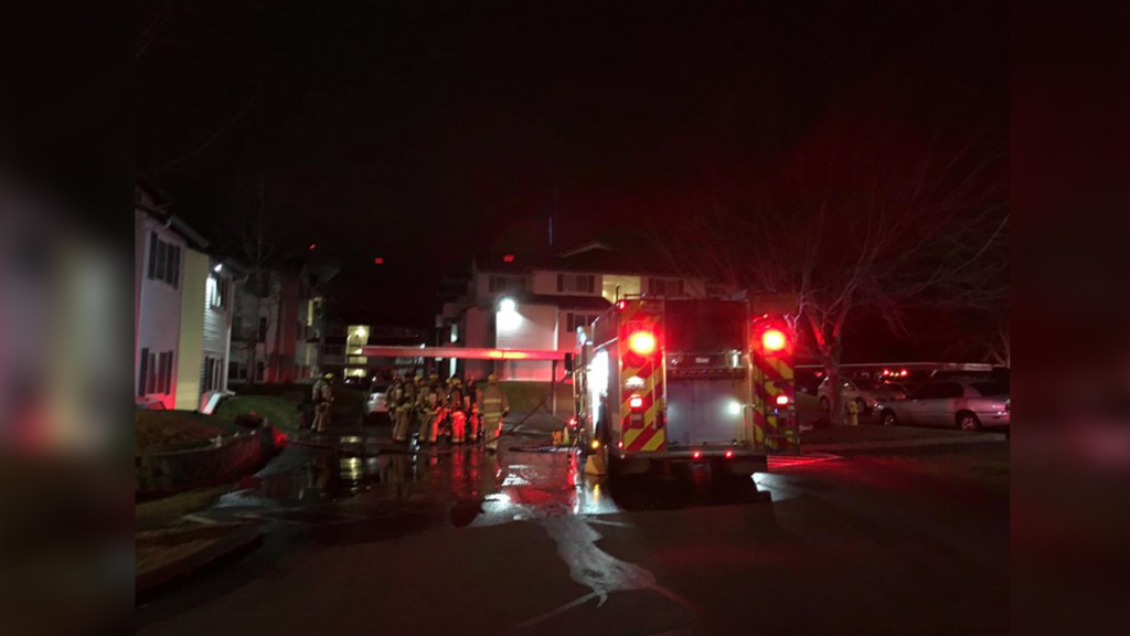 Over 20 units responded to Spokane Valley apartment fire