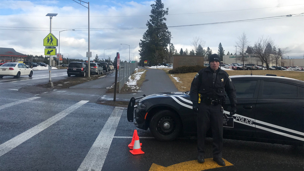 Idaho State Police respond to lockdown at Lakeland High School Wednesday morning