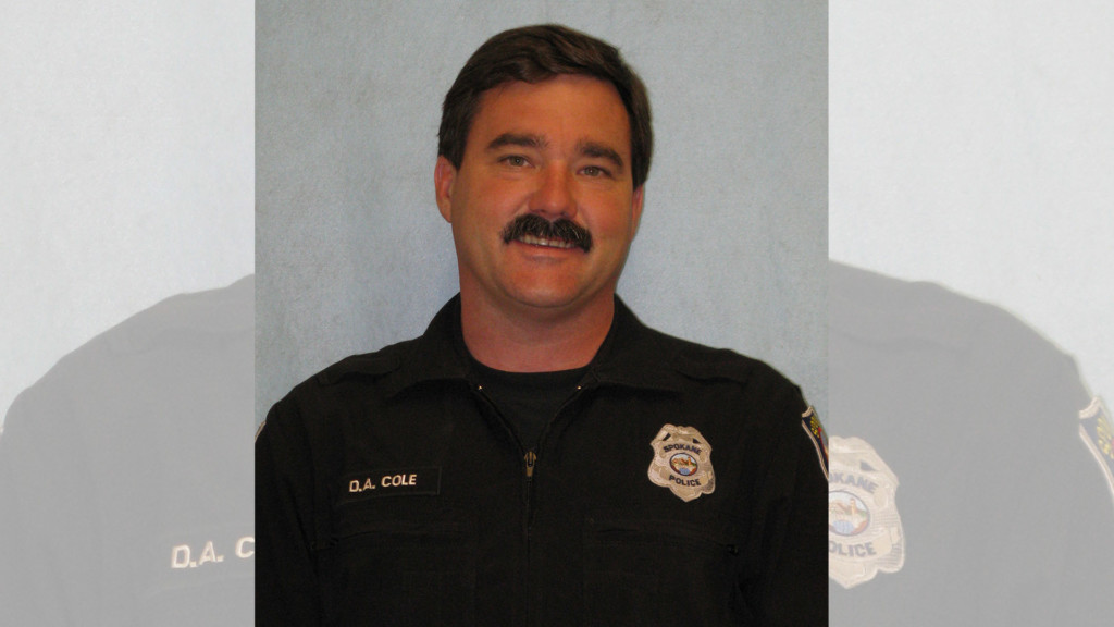 Spokane Police officer Dan Cole