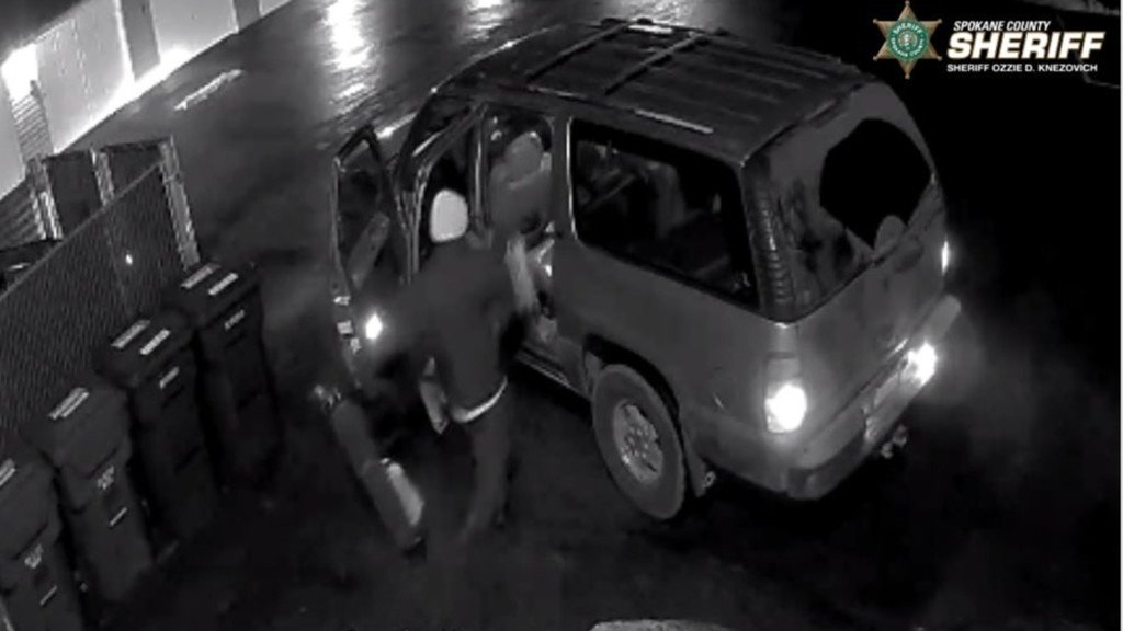 Suspects in multiple garage burglaries.