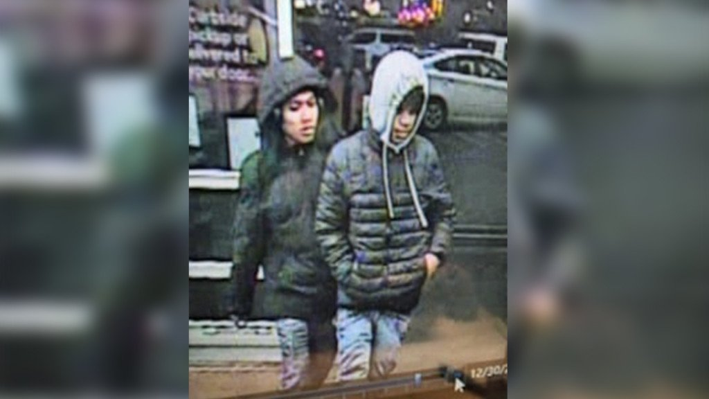Two men suspected of robbing a man outside walmart