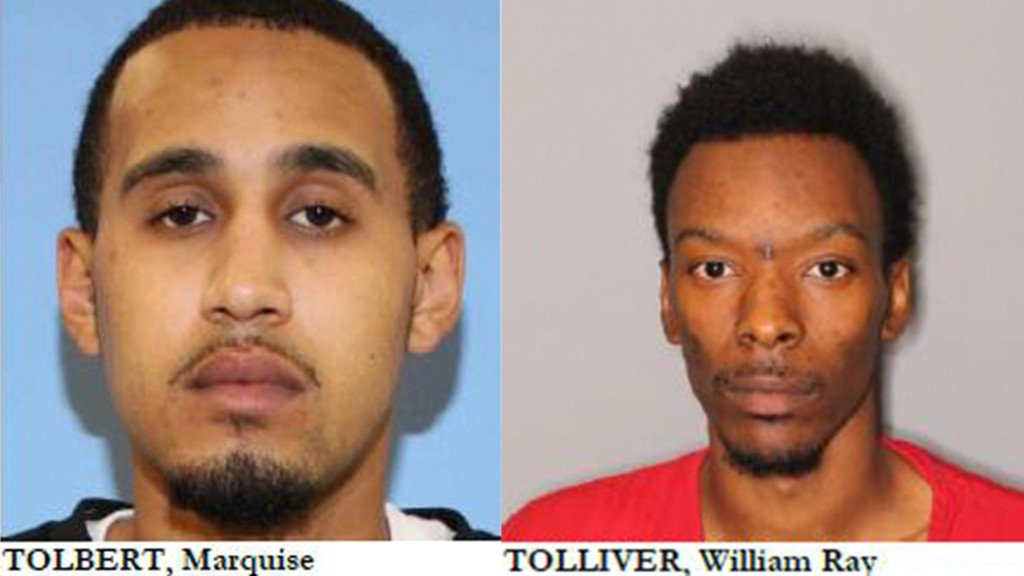 Marquise Tolbert and William Ray Tolliver's mugshots
