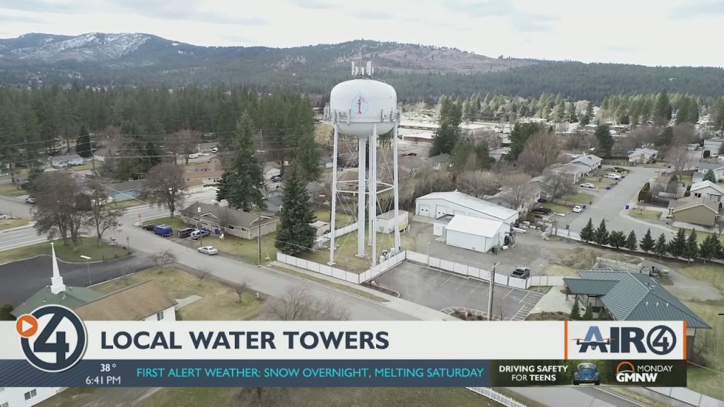 Air 4 Adventure: Local water towers