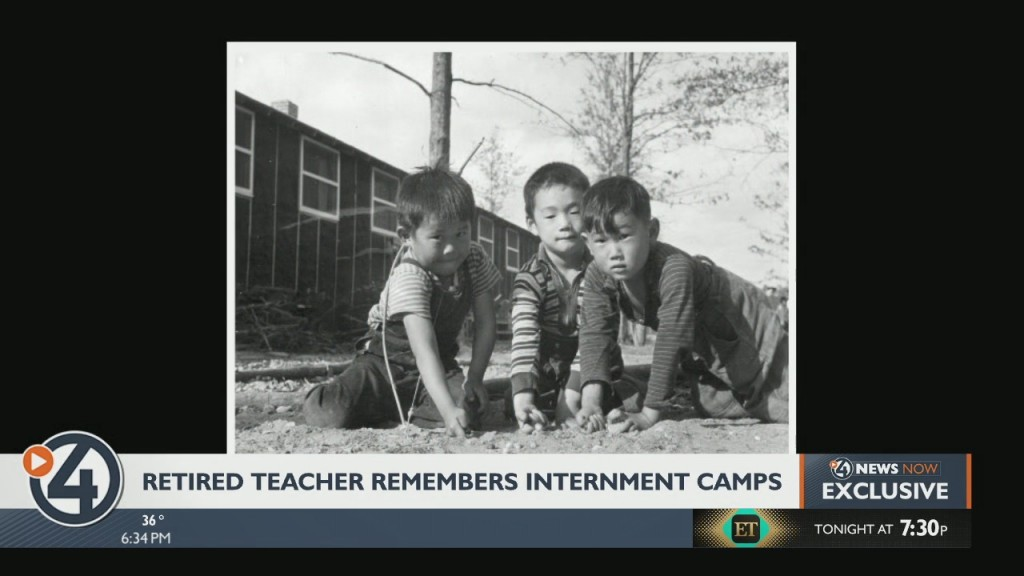 Retired teacher remembers WW2 internment camps