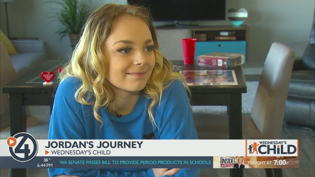 Wednesday's Child: Jordan's Journey
