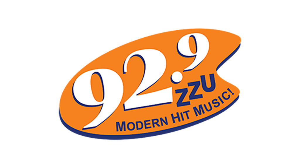 92.9 logo on white background